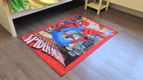 speelkleed spiderman speelmat spiderman vloerkleed