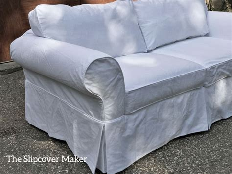 White Denim Slipcovers For Sofa by Philips White Denim Sofa Slipcover The Slipcover Maker