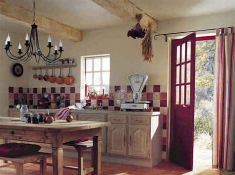 style cuisine cuisine style cagne pour ma cuisine meubles casseroles et fleur