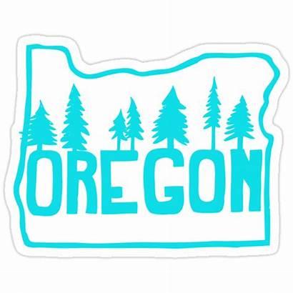 Oregon Evergreens Sticker Stickers Redbubble