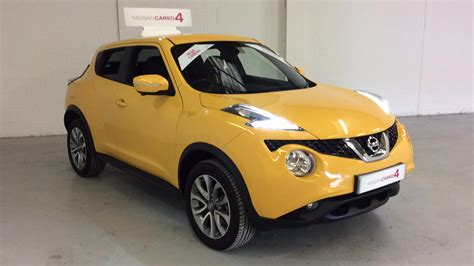 nissan yellow bassetts nissan juke approved used cars