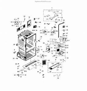 Parts For Samsung Rf28hdedbsr  Aa    0000  Cabinet Parts