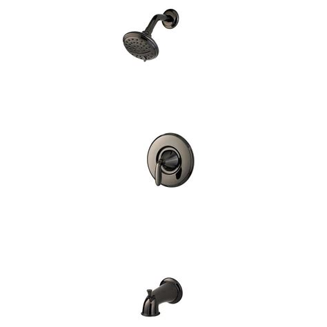 Pfister Pasadena Faucet Midnight Chrome by Pfister Pasadena Single Handle 3 Spray Tub And Shower