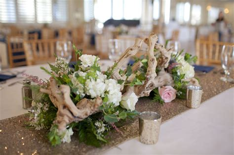 Lesner Inn Weddings Virginia Beach Flowers Driftwood