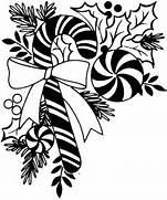 Christmas black and wh...Ten Clipart Black And White