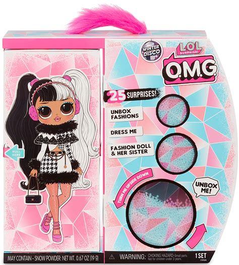 Tę możliwość dają im darmowe kolorowanki l.o.l. LOL OMG LALECZKA Winter Disco Fashion Dollie 25 S ...