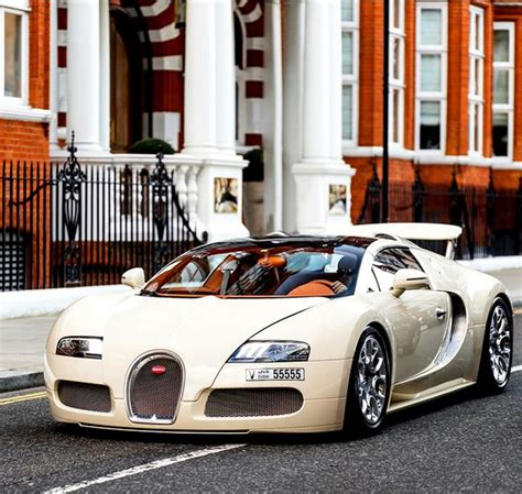 The bugatti veyron is one of the most sought after cars on the automotive scene. Cream Veyron. | Bugatti cars, Bugatti veyron, Luxury cars