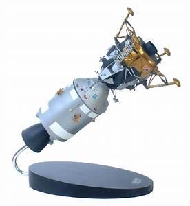 NASA Apollo Spacecraft Model - LEM - LCM & Capsule - 1/48 ...