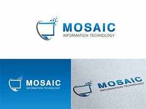 Mosaic Information Technology Logo Design | HiretheWorld