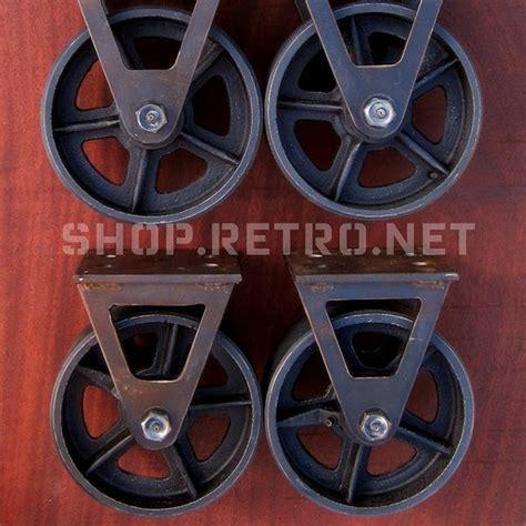 6? Factory Caster   Vintage Industrial Furniture
