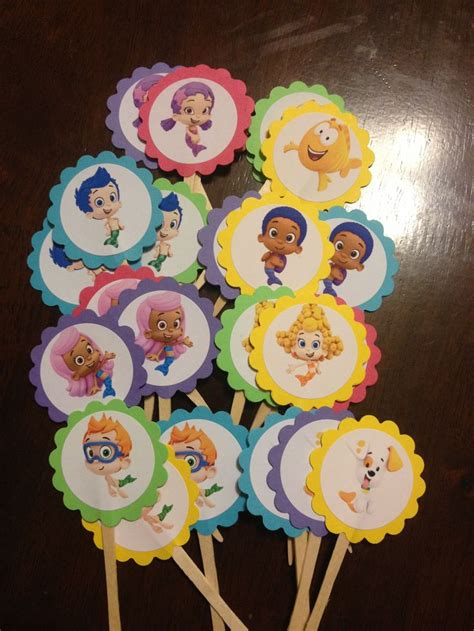 Guppies Cupcake Decorations by 25 Best Ideas About Guppies Cupcakes On
