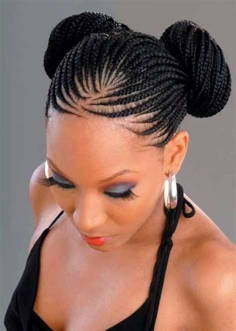 hairstyles with braids in the front 16 feed in cornrow and cornrow braid styles we are loving