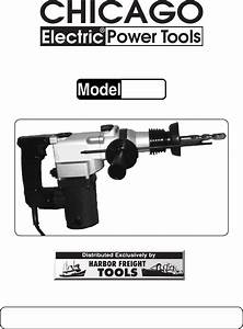 Harbor Freight Tools Power Hammer 41983 User Guide