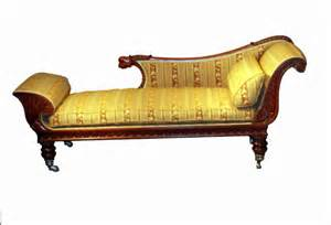 Chaise Longue Rotin Vintage by Antique Regency Mahogany Chaise Longue S S Timms