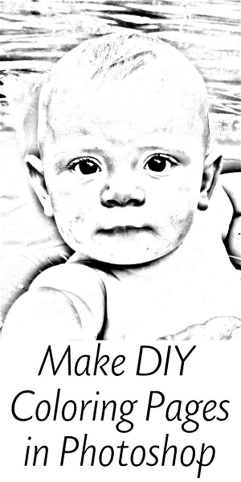 personalized coloring pages  photoshop