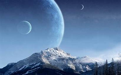 Sci Fi Wallpapers Backgrounds Planets Desktop Fiction