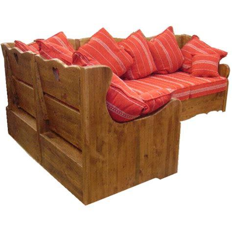 canapé chalet canape d 39 angle tissu aiguebelle alaska les meubles du chalet
