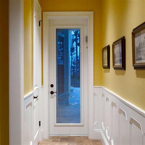 garage door window inserts exterior door with blinds enclosed how useful exterior