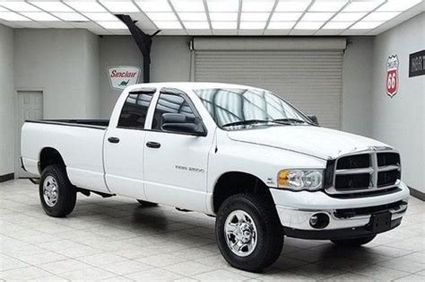 purchase used 2004 dodge ram 2500 cab diesel 6 speed 4x4 slt 1 owner 5 9 non smoker in