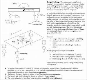 Design Challenge: The Primary Purpose Of A Road Pi ...