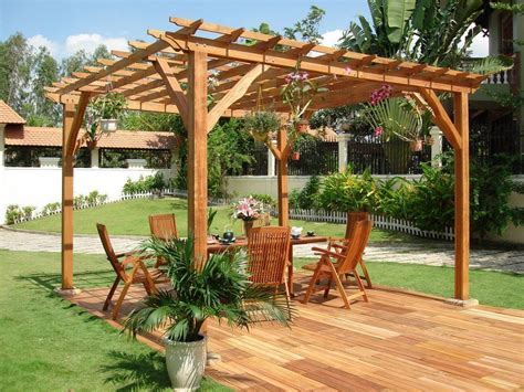 Tuscan Kitchen Decor Ideas - outstanding wooden pergola design for your backyard relaxing space patio covers designs