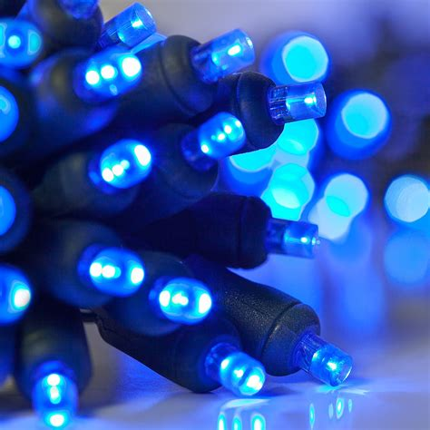 battery operated lights  blue battery operated mm led