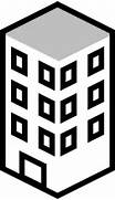 Apartment Building Black And Office Building Black And White  Construction House Clip Art Black And White