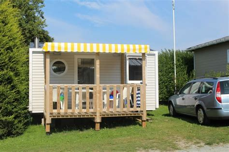 location mobil homes bretagne camping longchamp
