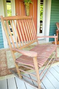 Long Overdue Rocking Chair Redo Plus A Color Wheel Lesson