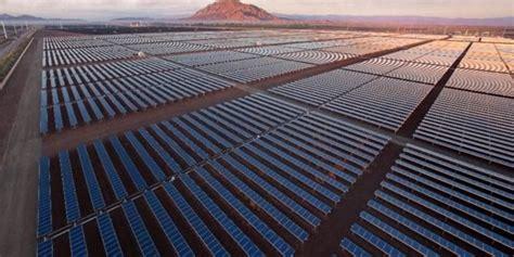 Солнечная энергия в Калифорнии Solar power in California
