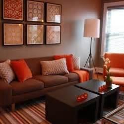 10 salas de color naranja y marr 243 n colores en casa