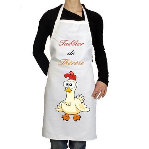 tablier de cuisine personnalis 233 pas cher cadeau pour