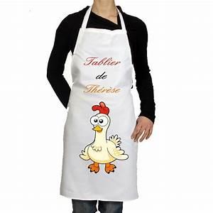 Tablier De Cuisine Pas Cher : tablier de cuisine personnalis pas cher cadeau pour femme le tablier photo ~ Teatrodelosmanantiales.com Idées de Décoration