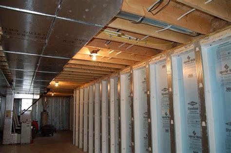 Framing a basement for drywall   Basement Gallery