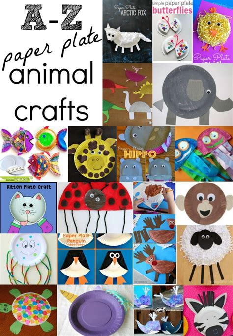 animal paper plate crafts      kids