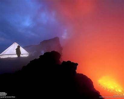 Volcano Nyiragongo Expedition National Geographic 10wallpaper