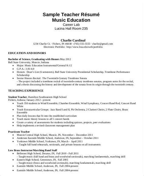 free teacher resume 40 free word pdf documents download free premium templates