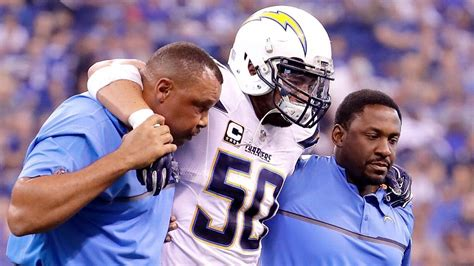 San Diego Chargers Lb Manti Te'o Out For Season With Torn
