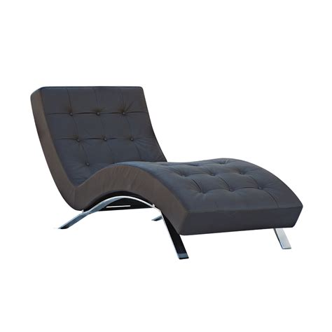 chaise u contemporary barcelona style chaise lounge ebay