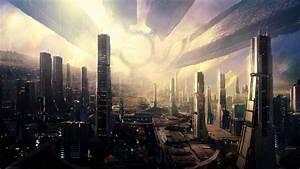 50 Futuristic City Wallpapers