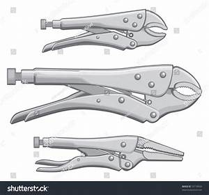 Vice Grips Locking Pliers Is An Illustration Of Three ...