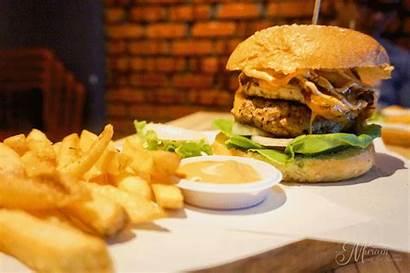 Fries Burgers Burger Grind Bar Fiesta Hi