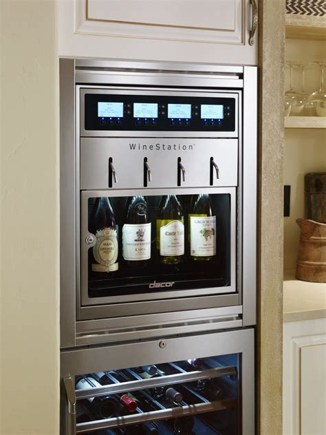 dacor wine dispenser showpieces for the home chef remodeling appliances 3077