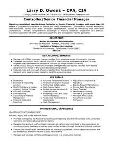 Cia Resume Tips by Best Cia Accounting Resume Gallery Resume Sles Writing Guides For All Orkuit