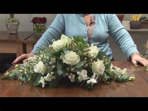funeral flower arrangement youtube