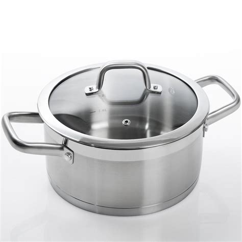 induction cookware duxtop stainless steel ssib sets pot piece lid bonded impact professional technology safe amazon