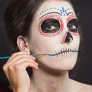 Braut Make Up Selber Machen : d a de los muertos make up schminkanleitung f r halloween ~ Udekor.club Haus und Dekorationen