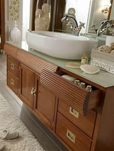 Meuble Vasque Retro : meuble salle de bain design choisir un meuble de rangement ~ Teatrodelosmanantiales.com Idées de Décoration