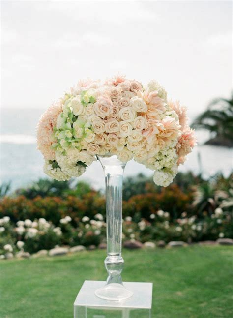 wedding arrangements romantic decoration