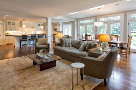 open concept kitchen living room  dining room ideas